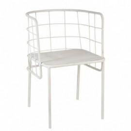 Chaise de table cuve métal...