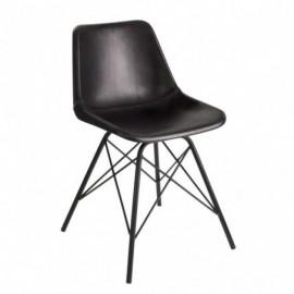 Chaise de table loft cuir...