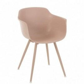 Chaise de table sam nude rose