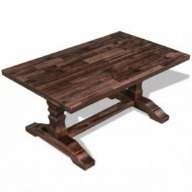 Table basse acacia massif...