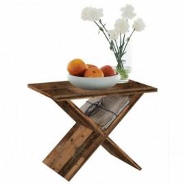 Table basse en bois marron...