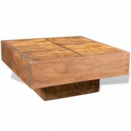 Table basse manguier massif...